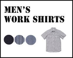 Lee メンズワーク半袖シャツ